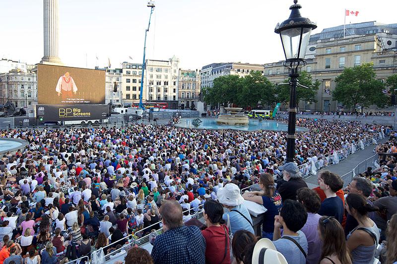 BP Big Screens — Royal Opera House