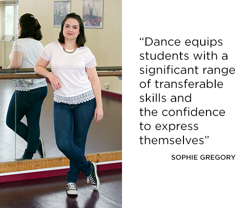 Dance equips students with a significant range of transferable skills