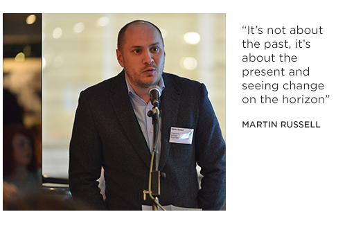 Cultural Leader Spotlight: Martin Russell