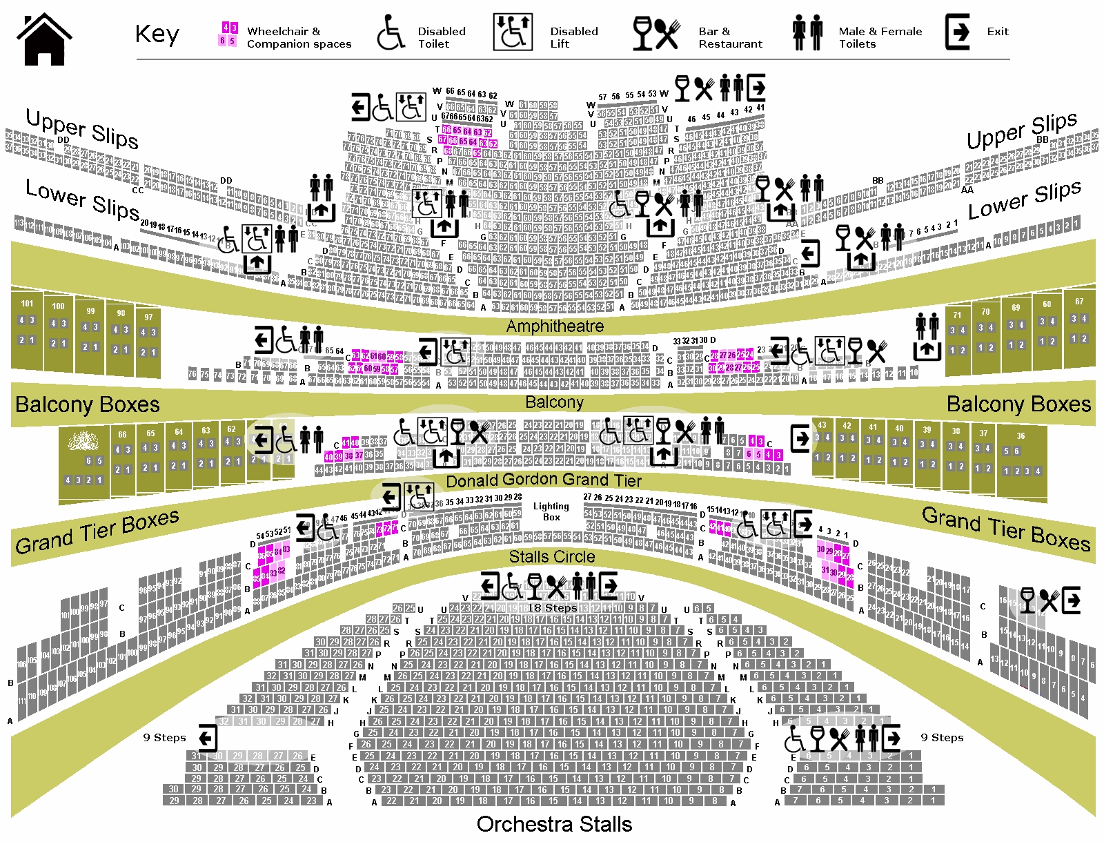 Royal Opera House Seating Plan Review Escortsea