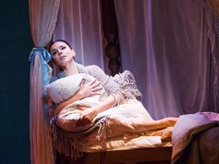 Natalia Osipova as Tatiana ©2015 ROH. Photographed by Tristram Kenton.
