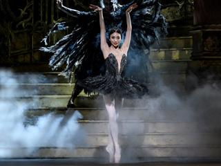 Akane Takada as Odile ©ROH. Photographed by Bill Cooper.