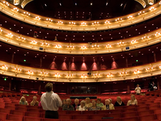 Tours of the auditorium at the Royal Opera House ©Pete Le May/ROH 2012