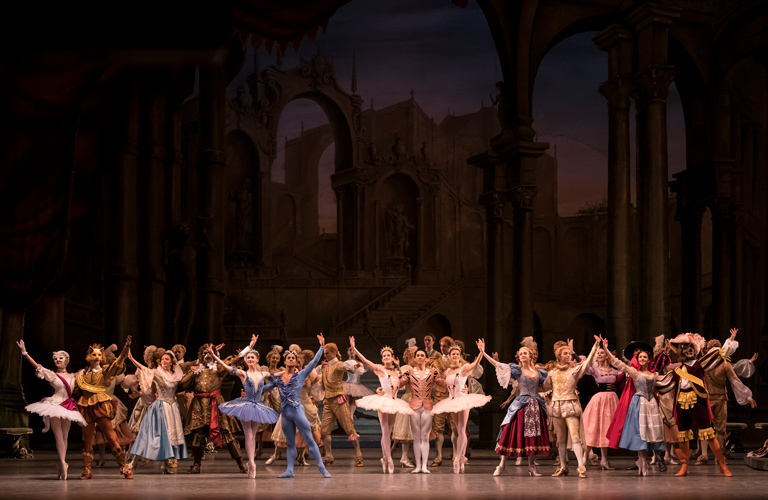Artists of The Royal Ballet in The Sleeping Beauty, The Royal Ballet ©2017 ROH. Photograph by Bill Cooper