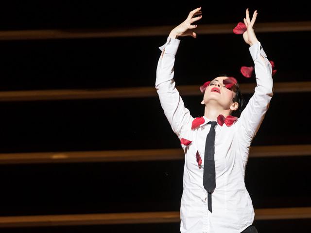 Anna Goryachova as Carmen in Carmen © 2017 ROH. Photograph by Bill Cooper