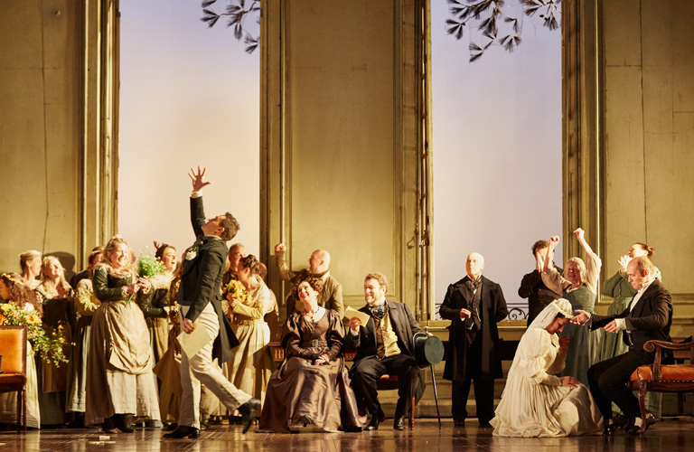 Production photo of The Marriage of Figaro, The Royal Opera © 2019 ROH. Photograph by Mark Douet