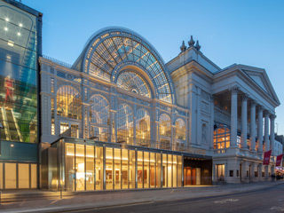 Royal Opera House, Bow Street Entrance ©2018 ROH. Photograph by Luke Hayes