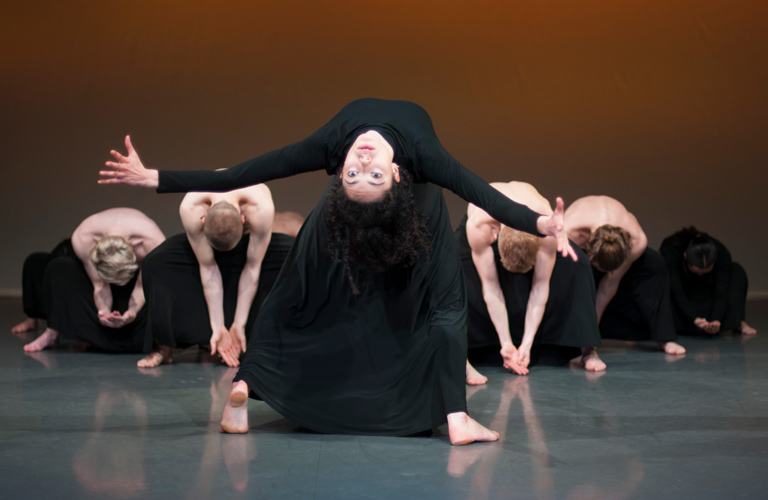 Students from the Rambert School of Ballet and Contemporary Dance, Photograph by Chris Nash