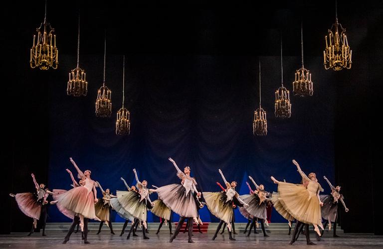 The Royal Ballet School performs La Valse ©2019 The Royal Ballet School