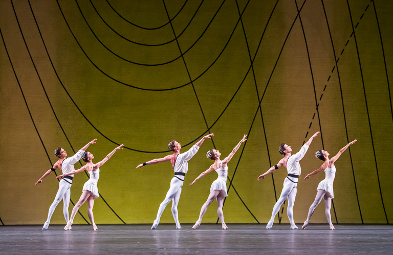 Artists of The Royal Ballet in Symphonic Variations. © ROH 2017. Photographed by Tristram Kenton