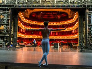 Vadim Muntagirov in rehearsal ©2020 ROH. Photograph by Tristram Kenton