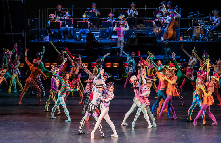 Artists of The Royal Ballet in Elite Syncopations in The Royal Ballet Back on Stage © 2020 ROH. Photograph by Tristram Kenton