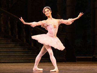 Fumi Kaneko as Princess Aurora in The Sleeping Beauty, The Royal Ballet ©2019 ROH. Photograph by Helen Maybanks