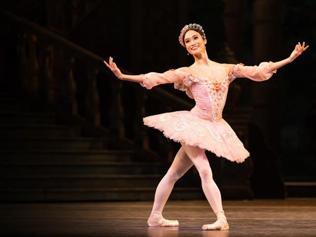 Fumi Kaneko as Princess Aurora in The Sleeping Beauty, The Royal Ballet ©2019 ROH. Photograph by Helen Maybanks.