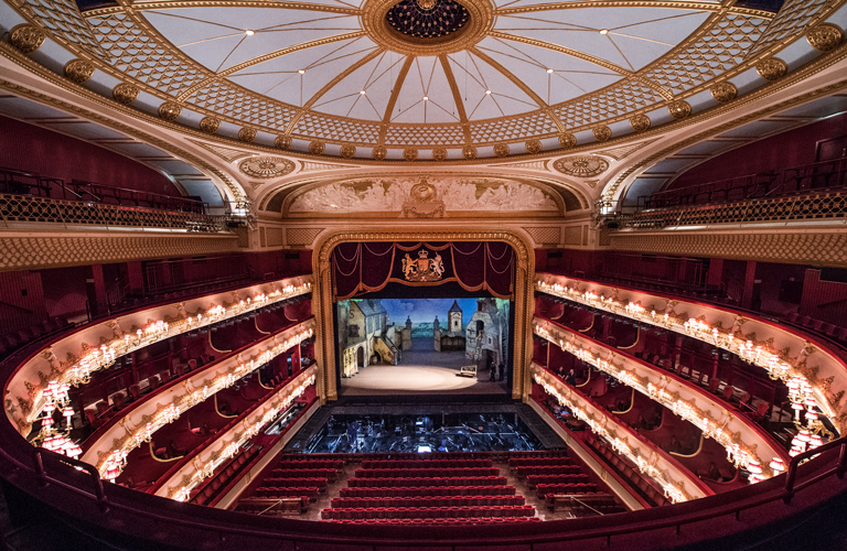 The auditorium of the Royal Opera House ©2016 ROH. Photograph by Sim Canetty-Clarke