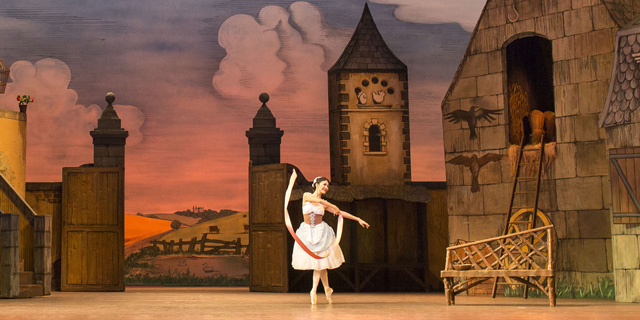 Yuhui Choe dancing in The Royal Ballet's production of La Fille mal gardée