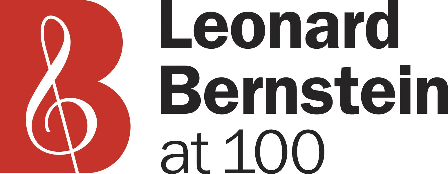 Leonard Bernsteinat 100 logo